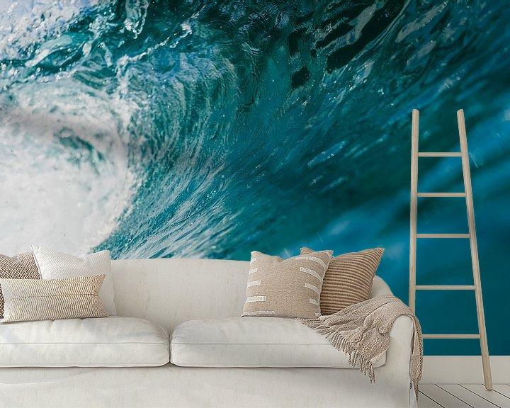 Beispiel fototapete: Wellen Mentawai 7 von Andy Troy