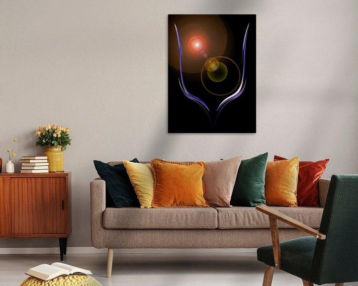 Sfeerimpressie: Magisch licht en energie 2 van Walter Zettl