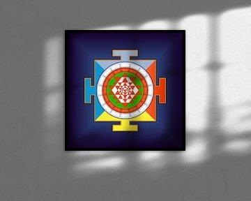 Sri Yantra. Symbol der Energie von Paul Evdokimov