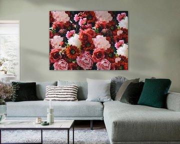 Ein Meer von Blumen von Wendy Tellier - Vastenhouw