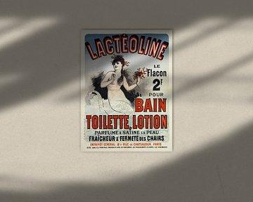 Meerjungfrau in Badesalz-Werbung 1884 von Atelier Liesjes