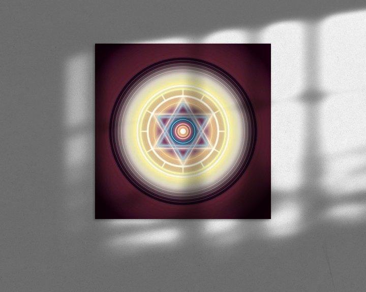 Beispiel: Sechszackiger Stern von Paul Evdokimov