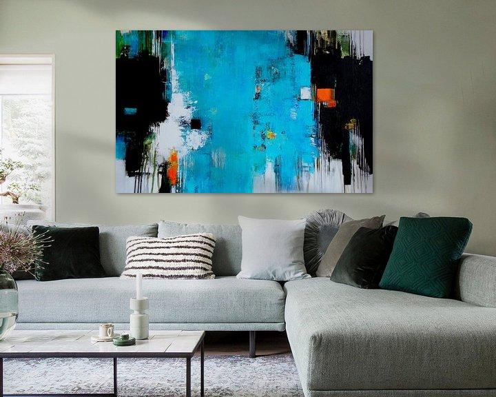 Beispiel: Leuchtend Blau von Claudia Neubauer