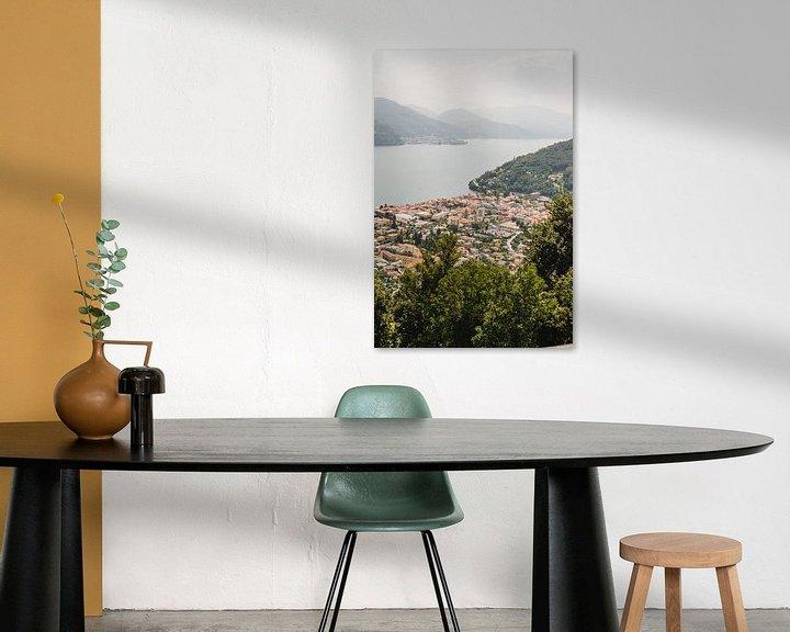 Sfeerimpressie: Italiaans uitzicht Lago Maggiore Cannobio van W Machiels