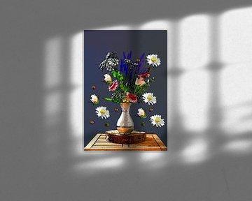 Kunst met bloemen van Wendy Tellier - Vastenhouw