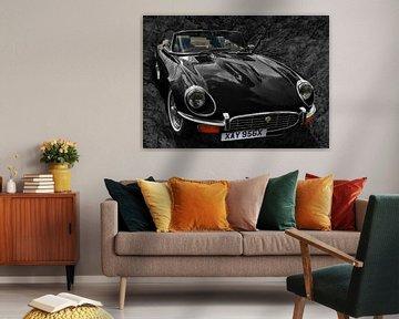 Jaguar E-Type Series 3 in darkblack von aRi F. Huber