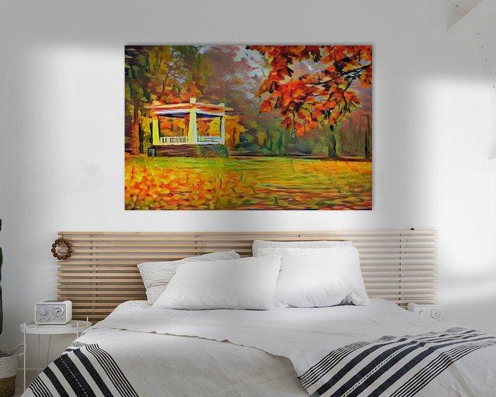 Beispiel: Herbst in Noorderplantsoen Groningen von Slimme Kunst.nl