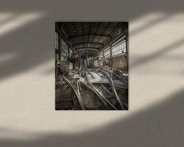 Wäscherei im Kohlebergwerk von Olivier Photography