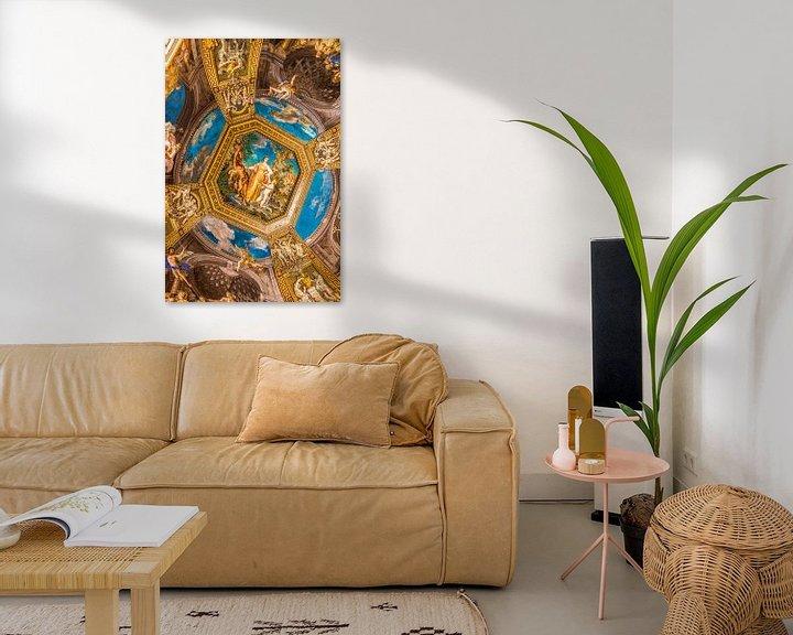 Beispiel: Gemälde an der Decke des Vatikanischen Museums in Rom von Lizanne van Spanje