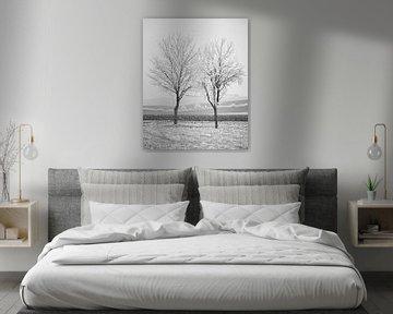 Winters Oogst 2 van Keith Wilson Photography