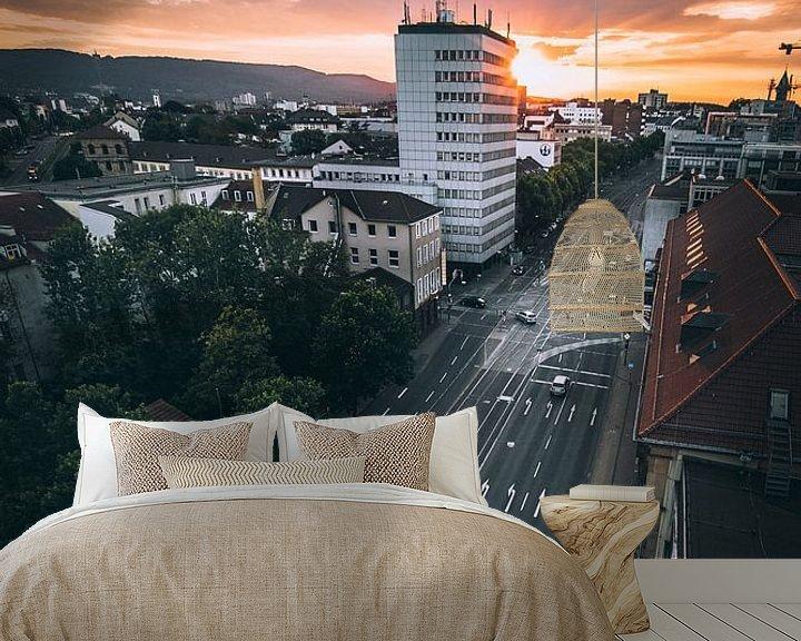 Beispiel fototapete: Sundowner Kassel von Flave_de