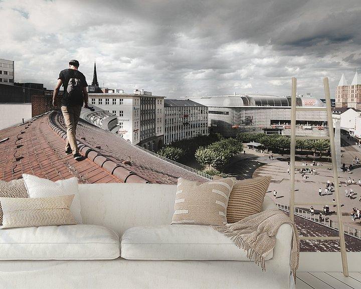 Beispiel fototapete: Königsplatz Walker von Flave_de