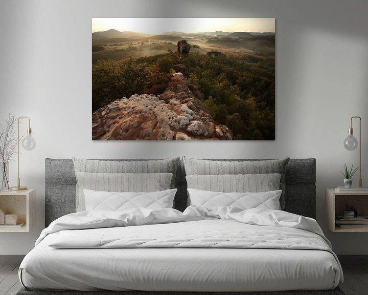 Beispiel: Geiersteine  im Pfälzer Wald von Jiri Viehmann
