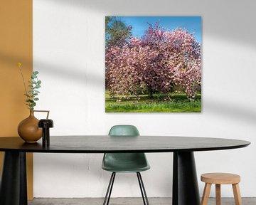 Pink Tree van Caroline Boogaard