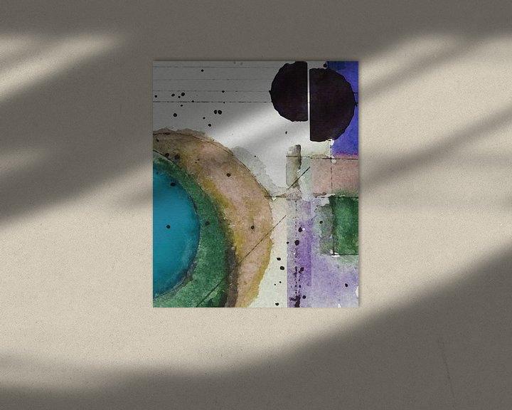 Beispiel: Sonne und Mond III von Kay Weber