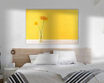 moderne stilleven geel