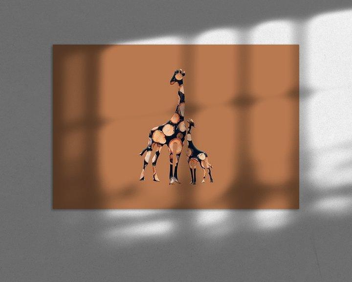 Beispiel: Girabois2 von Catherine Fortin