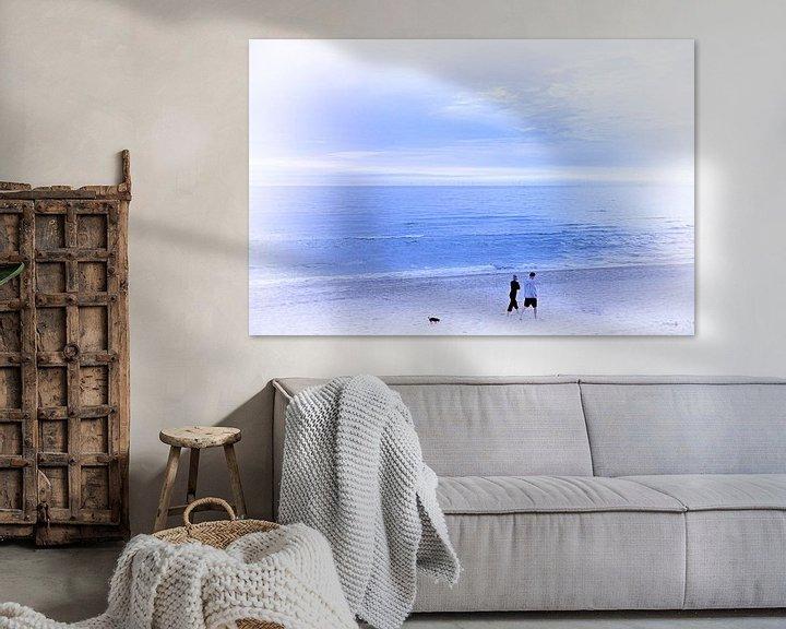 Sfeerimpressie: Strandwandeling van Erik Reijnders