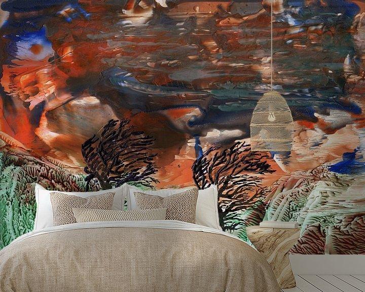 Beispiel fototapete: Geistreiche Farben14 von Terra- Creative