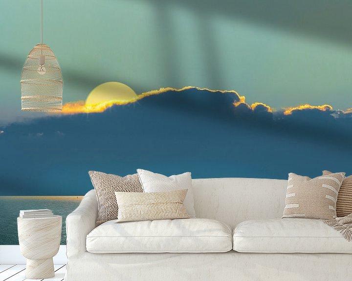 Sfeerimpressie behang: 0208 Horizon van Adrien Hendrickx