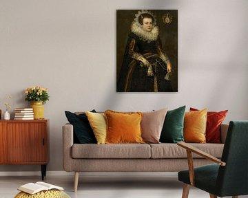 Porträt von Mertijntje van Ceters, anonym