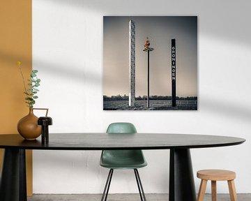 """Wahrzeichen der Stadt """"Der Turm der Karten"""", Groningen von Henk Meijer Photography"""