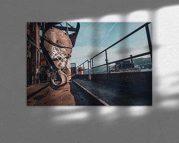 Hanging Loose van Trudo Urbex/ Jelle S photography