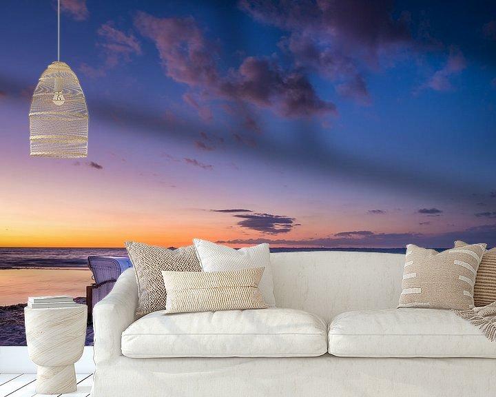 Beispiel fototapete: Sonnenuntergang an der Ostsee von Denis Feiner