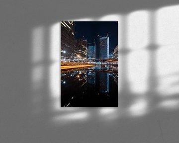Londen Canary Wharf van Maarten Starink Photography