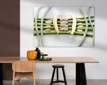 Creatief stilleven van bonen 00995061 van BeeldigBeeld Food & Lifestyle