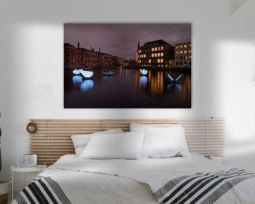 butterfly effect,  Amsterdam light festival van Aldo Sanso