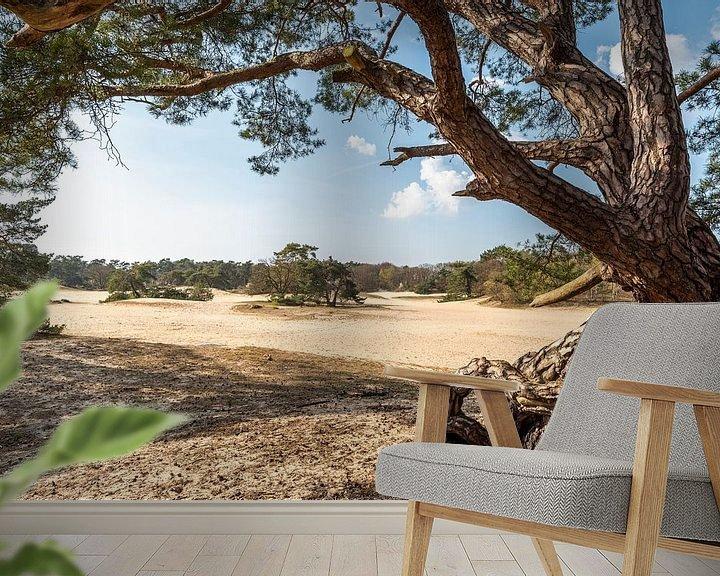 Beispiel fototapete: Blick auf die Kurzen Dünen von Rob IJsselstein