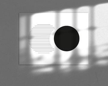 Minimal Circle Print van MDRN HOME