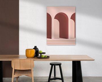 Pink Architecture van MDRN HOME