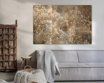 Korinthen voller Blüte von Karla Leeftink