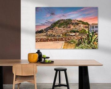 Zonsondergang bij Cala Cala Ratjada op Mallorca van PhotoArt Thomas Klee