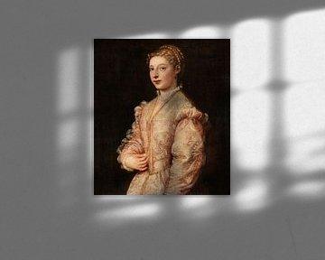 Portrait d'une jeune femme, Titien