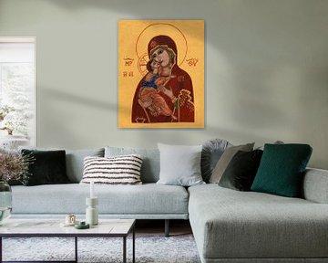 Moeder Gods van Vladimir van Sasha Butter-van Grootveld