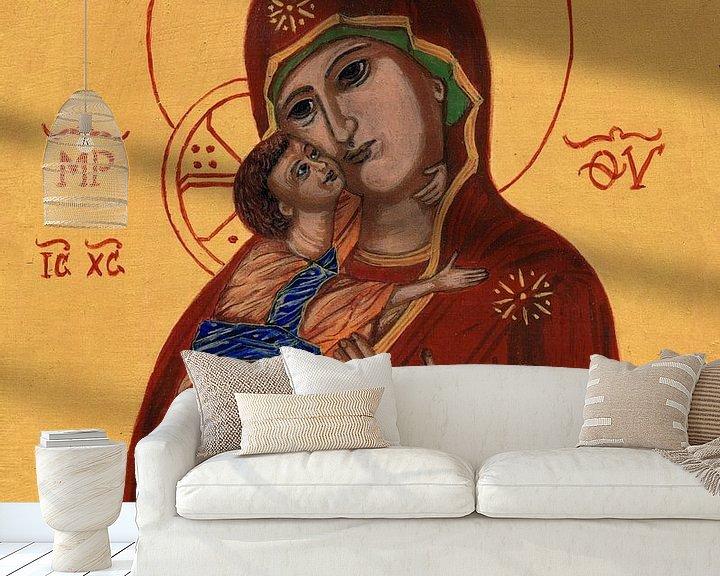 Beispiel fototapete: Moeder Gods van Vladimir von Sasha Butter-van Grootveld