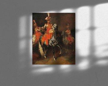 De trompettisten van de Keizerlijke Garde van Napoleon, Théodore Géricault