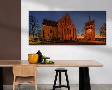 De kerk van Garmerwolde, Groningen, Nederland van Henk Meijer Photography