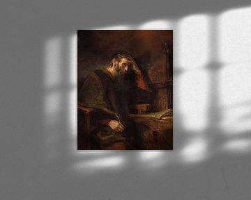 The Apostle Paul, Rembrandt van Rijn
