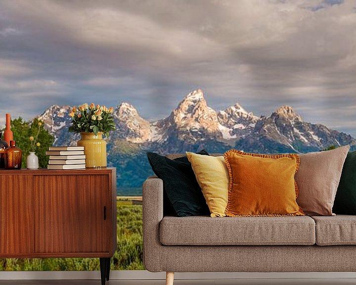 Sfeerimpressie behang: Grand Teton National Park van Denis Feiner