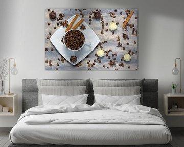 Kaffeezeit von Angelika Stern