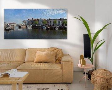 Haven bij de Spijkerbrug in Middelburg