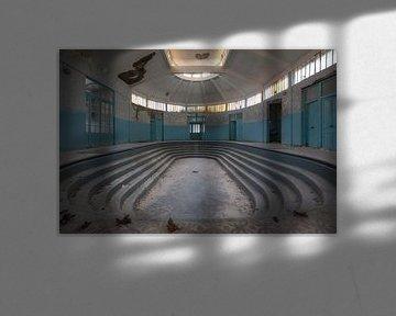 Badehaus im Verfall von Ben van Sambeek