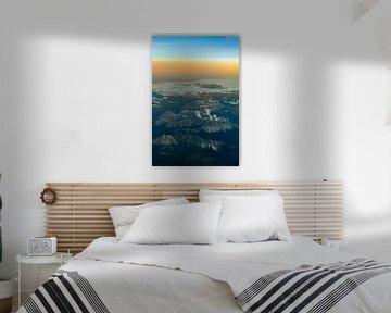 Sonnenuntergang über den Dolomiten von Denis Feiner