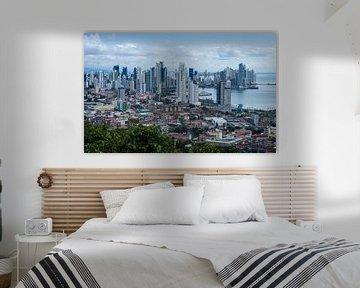Skyline van Panama Stad