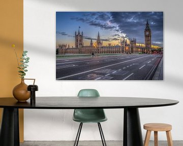 Houses of Parliament van Rene Ladenius Digital Art