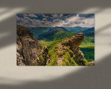 Panorama de montagne sur le Widderstein sur MindScape Photography